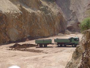 Stand der Renaturierung im Steinbruch Wachenberg