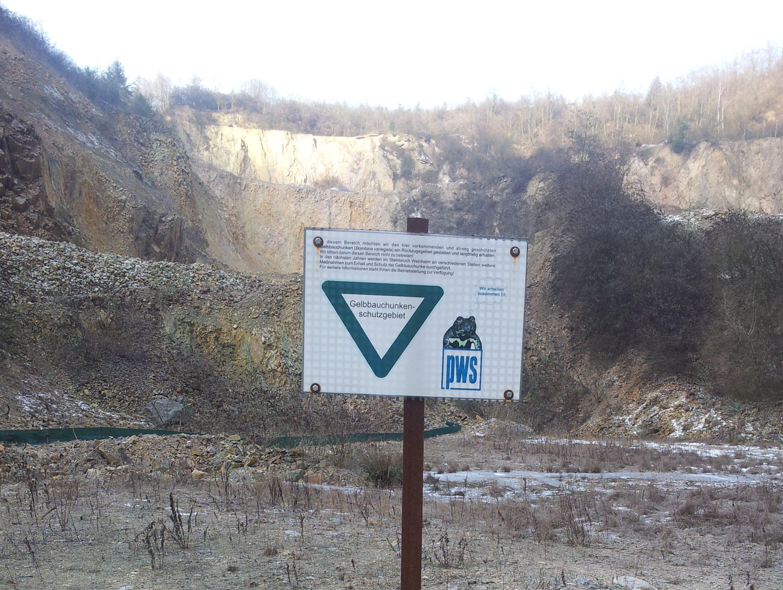 Besuch im Steinbruch Wachenberg